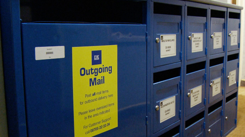 mail holding service highstone business centre