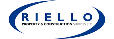Riello Construction logo Highstone House Barnet