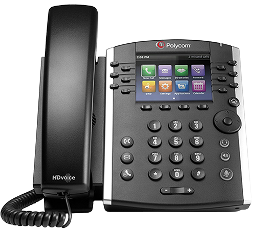 Polycom telephone in Highstone House Business Centre